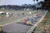 70768 - Up Mountain Straight on the first lap  -   Bathurst  1970 - Photographer Jeff Nield