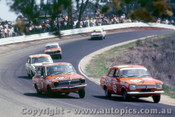 70769 - Carol Corness / Gloria Taylor Ford Escort 1300 & B. Sampson / D. Thurston Toyota Corolla 1200  -   Bathurst  1970 - Photographer Jeff Nield