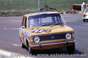 70775 - R. Forbes / P. Finlayr Fiat 128  -   Bathurst  1970 - Photographer Jeff Nield