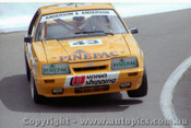 86759  - B. Anderson / W. Anderson Ford Mustang -  Bathurst  1986