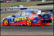 205029 - Marcos Ambrose Ford Falcon   - Queensland 300  2005 - Photographer Craig Clifford
