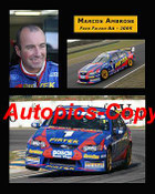 205038 - Marcos Ambrose  Ford Falcon  -  A collection of three photos from  2005