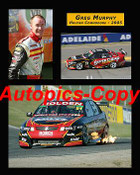 205039 - Greg Murphy  Holden Commodore  -  A collection of three photos from  2005