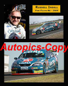 205041 - Russell Ingall  Ford Falcon  -  A collection of three photos from  2005