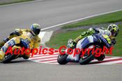 205303 - Valentino Rossi  Yamaha & Troy Bayliss Honda - Moto GP Sachsenring Germany 2005