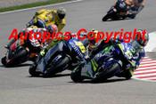 205311 - Gibernau / Rossi / Hayden Yamaha and Honda  - Moto GP Sachsenring Germany 2005