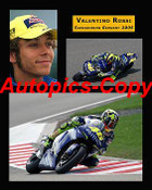478 - Valentino Rossi  -  A collection of three photos from 2005 - 16x20 inches  400x500mm