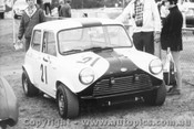 69080 - John Leffler Lightweight Morris Cooper S - Warwick Farm 13th July 1969