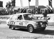 70963 - D. Stewart and G. Shepherd -  Mitsubishi Colt - Ampol Trial 1970