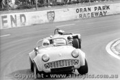 72428 - B. Campbell Triumph TR3A / J. Horswell Lotus Super 7- Oran Park 21st May 1972
