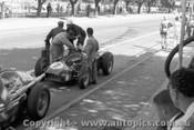 56503 - Front Car -  Jean Behra Car #7 Stirling Moss - Maserati 250F - Australian Grand Prix, Albert Park 1956