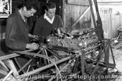 67552 - Installing the Repco engine into John Harvey s BT14 -  April 1967