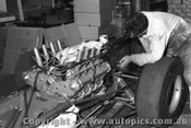 67554 - Installing the Repco engine into Leo Geoghegan s Lotus 39 - 8th April 1967