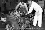 67556 - Installing the Repco engine into Leo Geoghegan s Lotus 39 - 8th April 1967