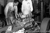 67557 - Installing the Repco engine into Leo Geoghegan s Lotus 39 - 8th April 1967