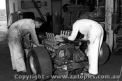 67559 - Installing the Repco engine into Leo Geoghegan s Lotus 39 - 8th April 1967