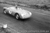 57417 - N. Hamilton Porsche Spyder - Phillip Island 26th December 1957