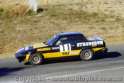 81408 - Ed White Triumph TR7 Pro Car Series  - Amaroo Park 9th March 1981
