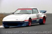 84028 - Tony Kavich - Mazda RX7 - Amaroo Park 5th August 1984