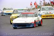 84029 - Tony Kavich - Mazda RX7 - Amaroo Park 5th August 1984