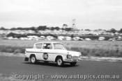 61719 - P. Coffey / I. Trudinger / S. Chillianis  - Ford Anglia - Armstrong 500 Phillip Island 1961