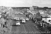 61728 - # 22  L. Darcy / M. Soderund / I Murray  Simca Elysee - Start of the Armstrong 500 Phillip Island 1961 - Class C -  Morris Major /  Peugeot 403 / Volkswagen