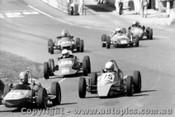 79413 - #64 P. Revell Rennmax / #75 P. Moore Elfin / D. Ratcliff Allget Vee -  Amaroo Park 15th April 1979