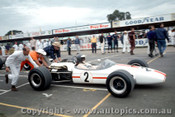 68553 - Fred Gibson Repco Brabham Climax - Bathurst 15th April 1968