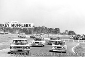 69082 - Gibson / Seton - Knight / Lamer - Roddy / Carter - Mcphee  Ford Falcon XW GTHO  - 14th Sandown 1969