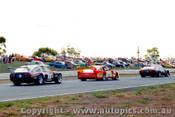 82020 - J. Briggs / B. Jane Chev Monz / T. Edmondson Alfetta  V8  - Calder 1982