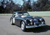 67480 - M. Newby Jaguar XK 150S - Warwick Farm 16th July 1967
