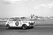 68178 - Bob Brown  Morris Cooper S - Calder 1968 - Photographer Peter D Abbs