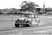 68180 - Jim Smith Morris Cooper S - Calder 22nd October 1968 - Photographer Peter D Abbs