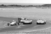70472 - G. Gilbert Corsaif Fomula Ford / C. Occhipinti Elfin Mallala / M. Haysom Tojerio  - Phillip Island 24th January 1970 - Photographer Peter D  Abbs