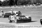 70474 - C. Occhipinti Elfin Mallala / R. Rowntree MG Midget / K. Murray Lotus Seven Ford - Warwick Farm 3rd May 1970 - Photographer Lance Ruting