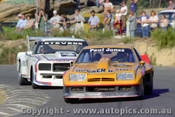 82022 -  Paul Jones Monza / Bob Stevens Holden Monaro  - Amaroo Park 23rd May 1982 - Photographer Lance  Ruting.