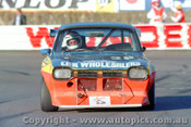 84034 - Tony Herbert Ford Escort - Amaroo Park 8th July 1984 - Photographer Lance  Ruting.