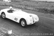 57419 - N.S. Norway Jaguar XK140 - Phillip Island  1957 - Photographer Peter D Abbs