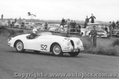 58429 - N.S. Norway Jaguar XK140 - Phillip Island  22nd February 1958 - Photographer Peter D Abbs