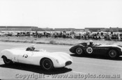 59406 -  A. Jack Cooper Climax / R. Jane Maserati 300S -  Fishermen s Bend - 21st February 1959 - Photographer Peter D Abbs