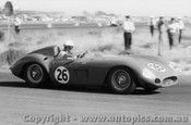 59411 -  Doug Whiteford  Maserati 300S -  Fishermen s Bend - 21st February 1959 - Photographer Peter D Abbs