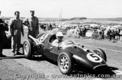 59520 - Len Lukey Cooper Bristol -  Phillip Island 13th December 1959 - Photographer Peter D Abbs
