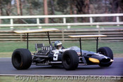 69552 - Piers Courage - Brabham BT24 - Tasman Series - Warwick Farm 19th February 1969 - Photographer Lance Ruting