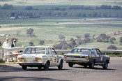 69767 - H. Tholstrup / B. Connell Datsun 1600 & C. Smith / W. Ford  -  XW  Ford Falcon GTHO Auto - Bathurst 1969- Photographer Lance J Ruting