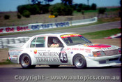84766 - B. Stack / W. Clift  Holden Commodore VH  - Bathurst 1984 - Photographer Lance Ruting