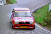 87769 - Giorgio Francia / Daniele Toppoli Alfa Romeo 33 - Bathurst 1987- Photographer Lance Ruting  A few marked on the neg.