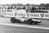63532 - Jack Brabham - Sandown International -  11th  March 1963 - Photographer Peter D Abbs