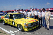 80754 - A. Moffat / J. Fitzpatrick  Ford Falcon XD -  non finisher -  piston rings - only completed 3 laps -  Bathurst 1980 - Photographer Lance J Ruting