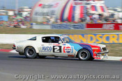 80756 - Ron Dickson / Bob Stevens Chev Camaro - 18th Outright - Bathurst 1980 - Photographer Darren House
