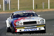 80758 - Ron Dickson / Bob Stevens Chev Camaro - 18th Outright - Bathurst 1980 - Photographer Lance J Ruting